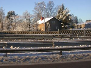 Airport-Vantaa-House-by-the-Highway